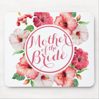 Mother of the Bride Watercolor Wedding | Mousepad