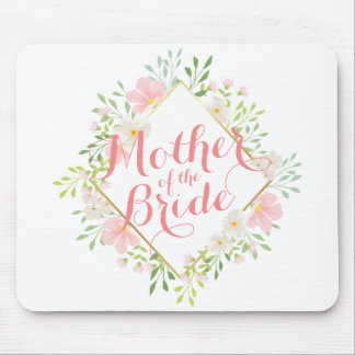 Mother of the Bride Watercolor Wedding Mousepad
