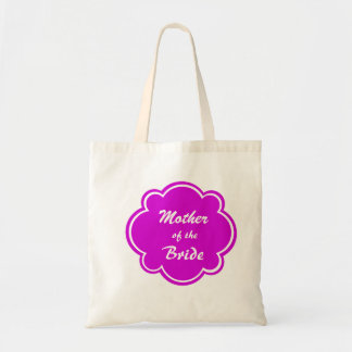 Mother of the Bride Wedding Tote Bag