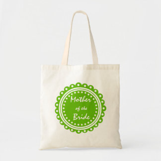 Mother of the Bride Wedding Tote Bag- Green