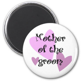 Mother of the Groom 6 Cm Round Magnet