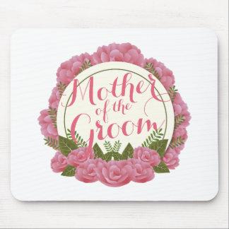 Mother of the Groom Elegant Frame Wedding Mousepad