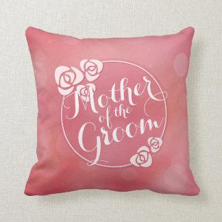 Mother of the Groom Elegant Frame Wedding Pillow