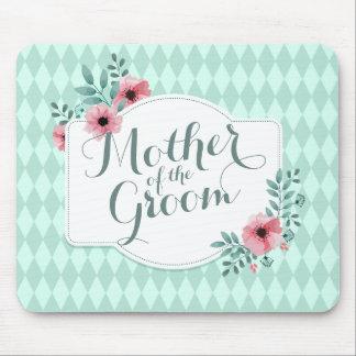 Mother of the Groom Elegant Wedding | Mousepad