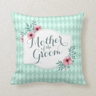 Mother of the Groom Elegant Wedding Throw Pillow