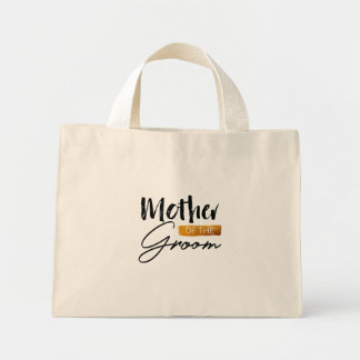Mother of the groom mini tote bag