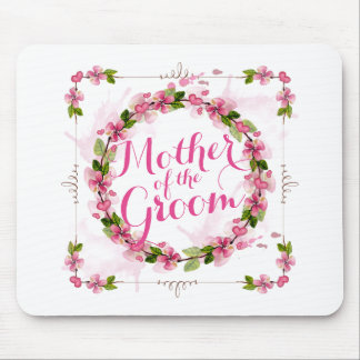 Mother of the Groom Watercolor | Mousepad