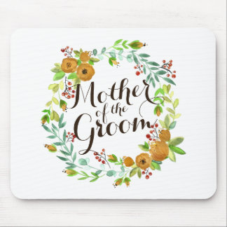 Mother of the Groom Watercolor Wedding | Mousepad