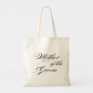 Mother of the Groom wedding gift tote Budget Tote Bag