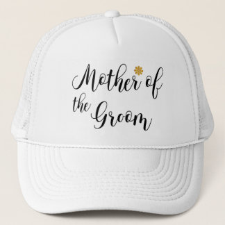 Mother of the Groom-Wedding party Trucker Hat