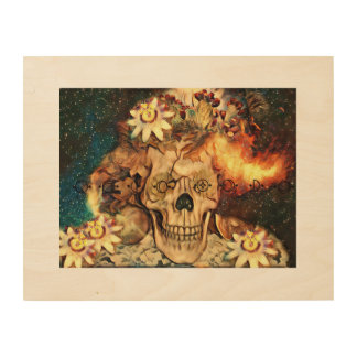 Mother of the Mesa Art Print on Wood