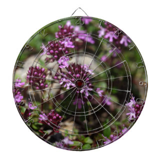 Mother of thyme flowers (Thymus praecox) Dartboard
