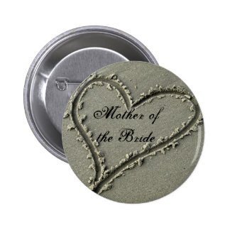 Mother ofthe Bride 6 Cm Round Badge