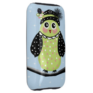 mother owl iPhone 3 tough cases