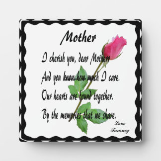 MOTHER-PLAQUE PLAQUE