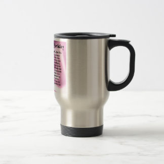 Mother Poem - 70th Birthday Stainless Steel Travel Mug