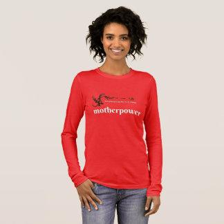 mother power long sleeve T-Shirt
