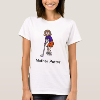 Mother Putter Funny Women's Golf Tshirt