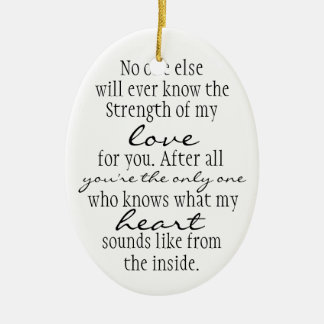 Mother Quote Christmas Tree Ornament