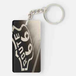 Mother Road, Route 66 Key Ring