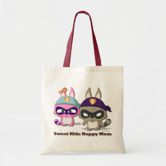 Mother s Day Gift Cute Cartoon Funny Shopping Bag
