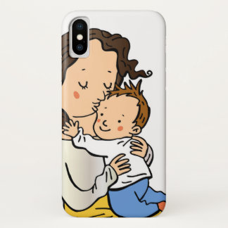 Mother's Day love heart IPHONE iPhone X Case