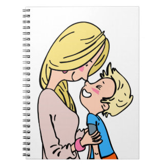 Mother's Day love heart notebook