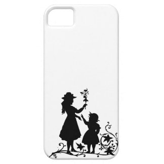 Mother s Day mother daughter vintage silhouette iPhone 5 Cover