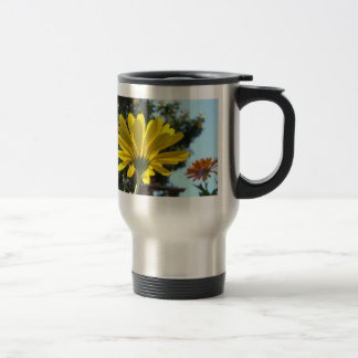 MOTHER'S DAY Mugs 2 Yellow Daisy Flowers Daisies