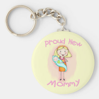 Mother s Day New Mom Key Chain