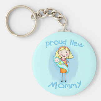 Mother s Day New Mom Keychains