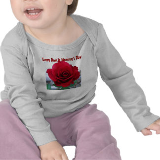 Mother s Day Red Rose Tees