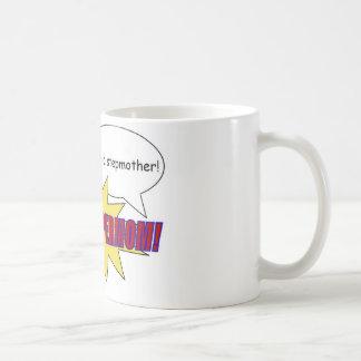 mother, stepmother, supermom mug