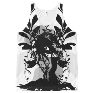 Mother Sun & Earth by OGNK™ All-Over Print Tank Top