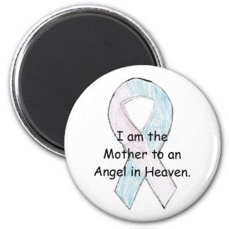 Mother to an Angel 6 Cm Round Magnet
