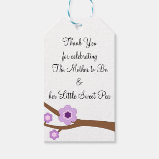 Mother to Be and her Little Sweet Pea Gift Tags