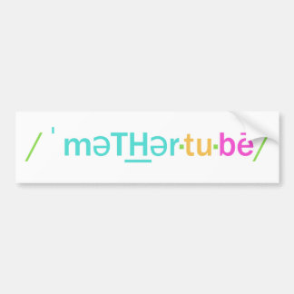 Mother to be bumper sticker