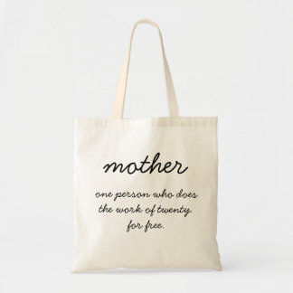 Mother Tote Bag - Gift for Mom - Mother's Day