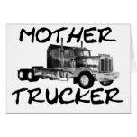 MOTHER TRUCKER - BLACK & WHITE