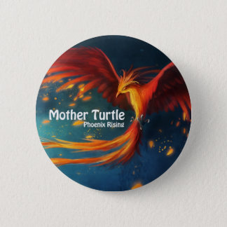Mother Turtle Products 6 Cm Round Badge