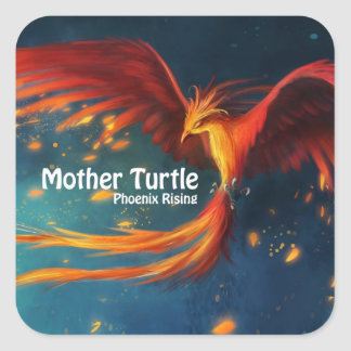Mother Turtle Products Square Sticker