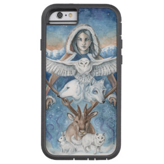 """Mother Winter"" Original Art iPhone Case"