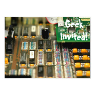 Motherboard 13 Cm X 18 Cm Invitation Card