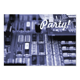 Motherboard 13 Cm X 18 Cm Invitation Card