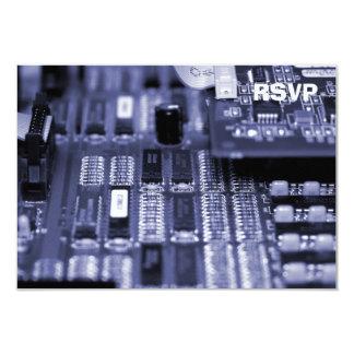 Motherboard 9 Cm X 13 Cm Invitation Card