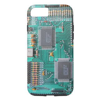 Motherboard: computer logic board photo iPhone 7 case