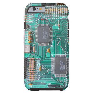 Motherboard: computer logic board photo tough iPhone 6 case