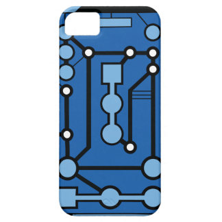 Motherbox Blue iPhone 5 Cases