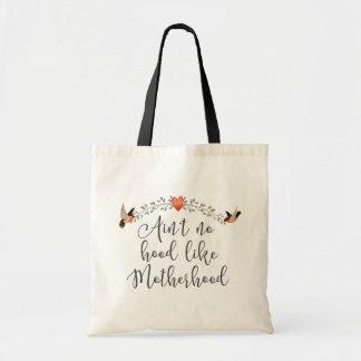Motherhood Funny Quote Tote Bag