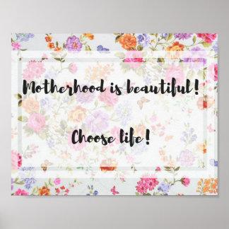 Motherhood is Beautiful! Poster